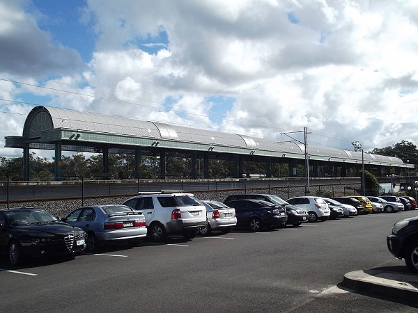 Coomera Railway Station, Queensland, July 2012