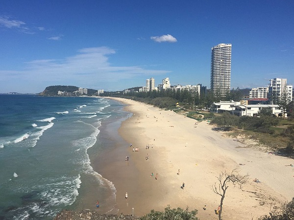 North Burleigh Waters from Mick Schamburg Park
