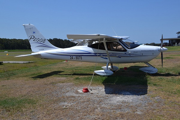 Tecnam-P. 2008 at Southport Coombabah Queensland
