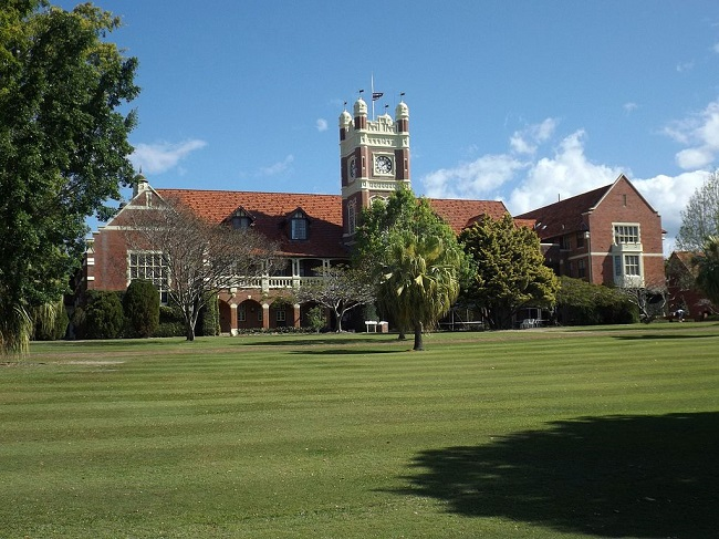 The Southport School clock tower